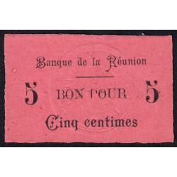 La Réunion - Pick 20 - 5 centimes - 1915 - Etat : NEUF
