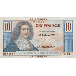 La Réunion - Pick 42 - 10 francs France Outre-Mer - 1947 - Etat : pr.NEUF