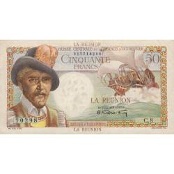 La Réunion - Pick 44 - 50 francs France Outre-Mer - 1947 - Etat : SUP+