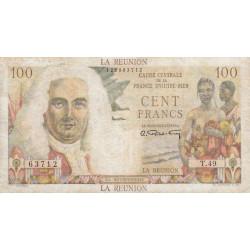 La Réunion - Pick 45 - 100 francs France Outre-Mer - 1947 - Etat : TB