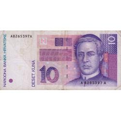 Croatie - Pick 29 - 10 kuna - 1993 - Etat : TB+