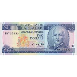 Barbade - Pick 36 - 2 dollars - 1986 - Etat : NEUF