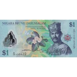 Brunei - Pick 35b - 1 dollar - 2013 - Polymère - Etat : NEUF