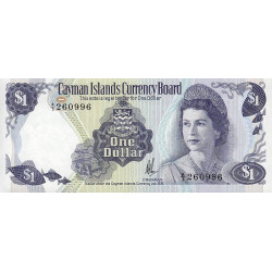 Caimans (îles) - Pick 5a - 1 dollar - 1985 - Etat : NEUF
