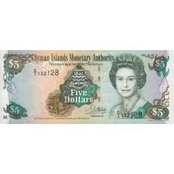 Caimans (îles) - Pick 27 - 5 dollars - 2001 - Etat : NEUF