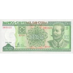 Cuba - Pick 116i - 5 pesos - 2006 - Etat : NEUF