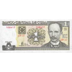 Cuba - Pick 121b - 1 peso - 2002 - Etat : NEUF