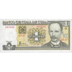 Cuba - Pick 121h - 1 peso - 2008 - Etat : NEUF