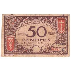 Nice - Pirot 91-06a - 50 centimes - Etat : B+