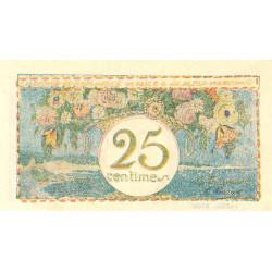 Nice - Pirot 91-16b - 25 centimes - Etat : NEUF