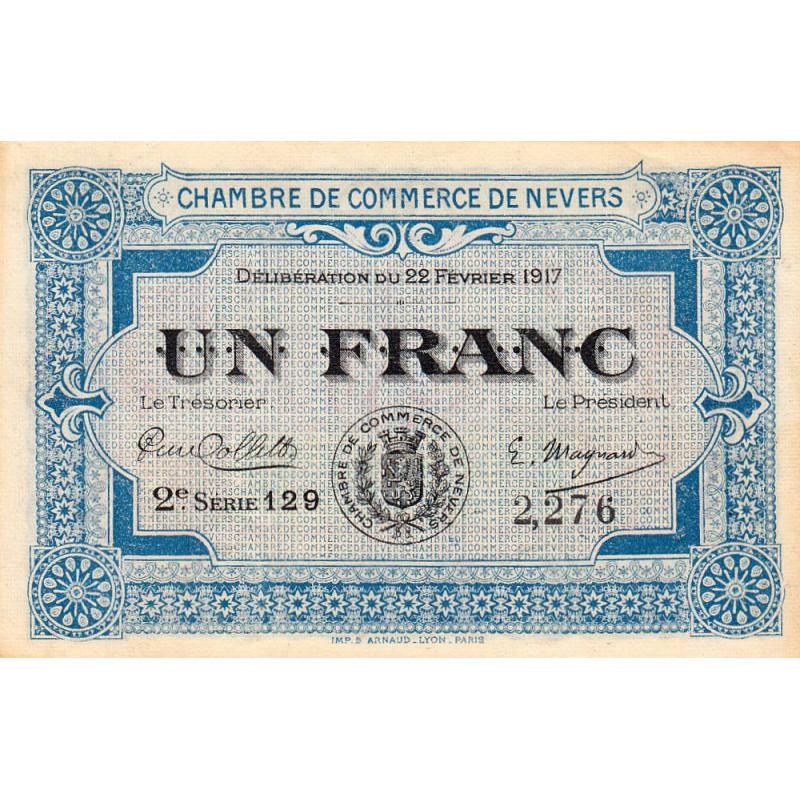 Nevers - Pirot 90-14 - 1 franc - Etat : SPL