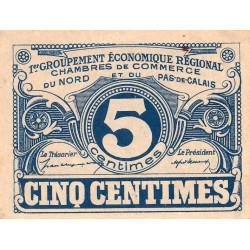 Nord et Pas-de-Calais - Pirot 94-1 - 5 centimes - Etat : SUP+