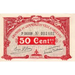 Orléans - Loiret - Pirot 95-8 - 50 centimes - Etat : SPL