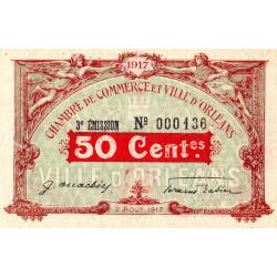 Orléans - Loiret - Pirot 95-16 - 50 centimes - Petit numéro - Etat : SUP+