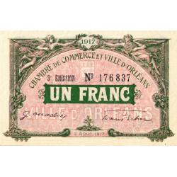 Orléans - Loiret - Pirot 95-17 - 1 franc - Etat : SPL