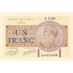 Paris - Pirot 97-23-E - 1 franc - Etat : NEUF