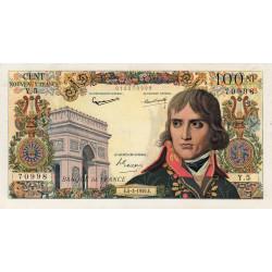F 59-01 - 05/03/1959 - 100 nouv. francs - Bonaparte - Etat : TTB+