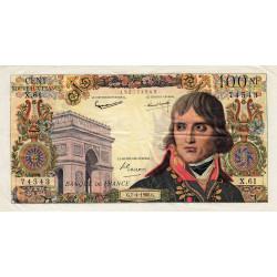 F 59-06 - 07/04/1960 - 100 nouv. francs - Bonaparte - Etat : TTB