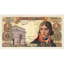 F 59-11 - 04/05/1961 - 100 nouv. francs - Bonaparte - Etat : TB