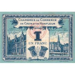 Caen / Honfleur - Pirot 034-18-B - 1 franc