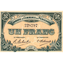 Périgueux - Pirot 98-10 - 1 franc - Etat : SPL+