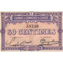 Cahors (Lot) - Pirot 035-05-C - 50 centimes