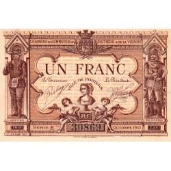 Poitiers - Vienne - Pirot 101-3-E - 1 franc - Etat : SUP+