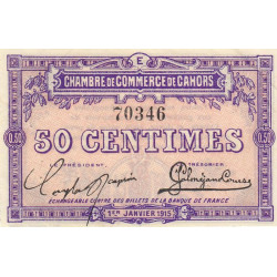 Cahors (Lot) - Pirot 035-05-E - 50 centimes