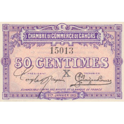 Cahors (Lot) - Pirot 035-09-E - 50 centimes