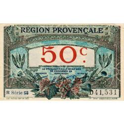 Région Provençale - Pirot 102-9-R 58 - 50 centimes - Etat : SUP