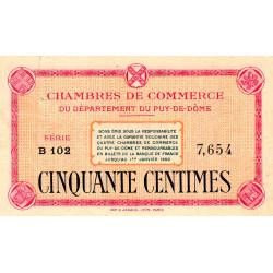 Puy-de-Dôme - Pirot 103-1a-B102 - 50 centimes - Etat : SUP