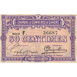 Cahors (Lot) - Pirot 035-12-F - 50 centimes