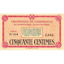 Puy-de-Dôme - Pirot 103-12-D104 - 50 centimes - Etat : NEUF