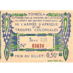 1917 - Armée d'Afrique et Troupes coloniales - 50 centimes - Etat : SUP+