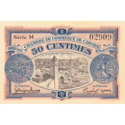 Cahors (Lot) - Pirot 035-17-H - 50 centimes