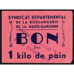 31 - Toulouse - L'épargne L. Bord - Bon pour 1 kilo de pain - Etat : SUP