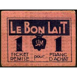75 - Paris - Société Laitière Maggi - 1 franc d'achat - Etat : SUP