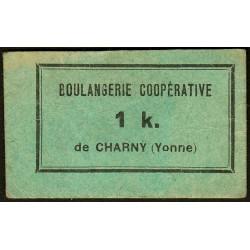 89-nr Charny - Boulangerie Coopérative - 1 K. - Etat : SUP+