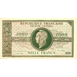 VF 12- VF 13 - 1000 francs - Marianne - 1945 - Faux - Etat : NEUF