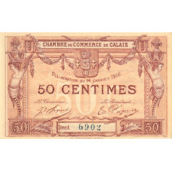 Calais - Pirot 36-28-Aa - 50 centimes - Etat : SUP