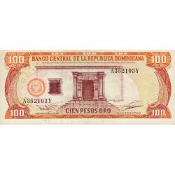 Rép. Dominicaine - Pick 144 - 100 pesos oro - 1993 - Etat : SUP