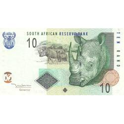 Afrique du Sud - Pick 128a - 10 rand - 2005 - Etat : TTB