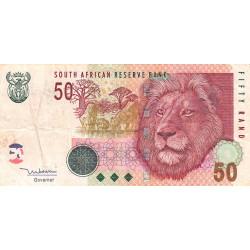 Afrique du Sud - Pick 130a - 50 rand - 2005 - Etat : TB
