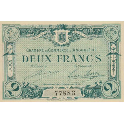 Angoulême - Pirot 009-31 - 2 francs