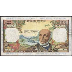 Antilles Françaises - Pick 10a - 100 francs - 1964 - Etat : TTB à TTB+