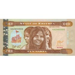 Erythrée - Pick 12 - 10 nakfa - 2012 - Etat : NEUF