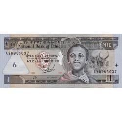 Ethiopie - Pick 46a - 1 birr - 1997 - Etat : NEUF