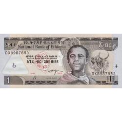 Ethiopie - Pick 46c - 1 birr - 2003 - Etat : NEUF