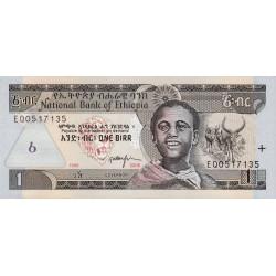 Ethiopie - Pick 46d - 1 birr - 2006 - Etat : NEUF