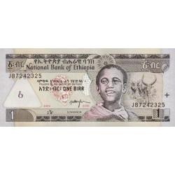 Ethiopie - Pick 46e - 1 birr - 2008 - Etat : NEUF